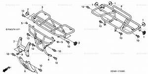 Honda Atv 2006 Oem Parts Diagram For Carrier