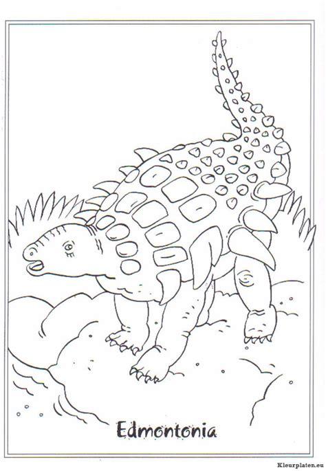 dinosaurussen kleurplaten kleurplateneu