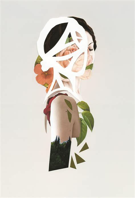 surreal collages  rocio montoya inspiration grid