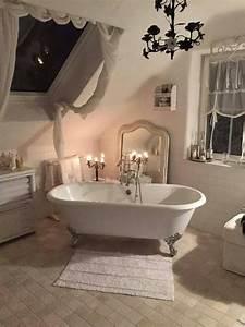 salle de bain shabby chic voici 20 idees qui sauront vous With comment decorer sa salle de bain