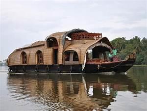 Wohnen Auf Dem Hausboot : indien auf die ruhige art mit dem hausboot durch kerala n ~ Markanthonyermac.com Haus und Dekorationen