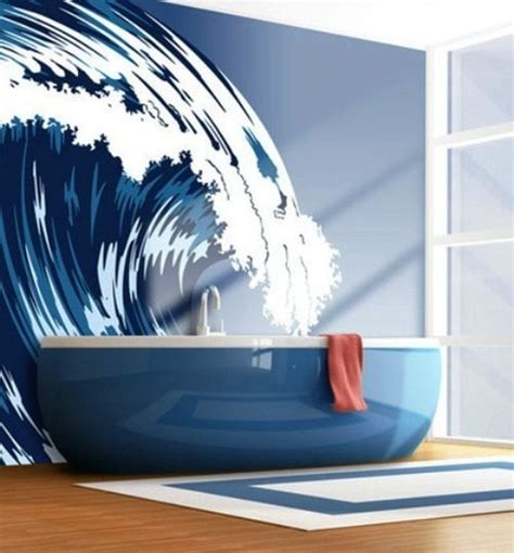 Royal Blue Bathroom Wall Decor by 15 Unique Bathroom Wall Decor Ideas Ultimate Home Ideas
