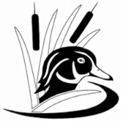 Duck Hunting Wood Silhouette Drake Decal Waterfowl