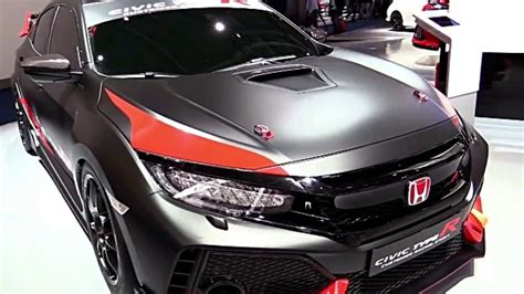 2017 Honda Civic Type R Satin Black Wrap Preview