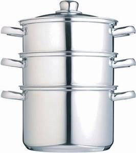 Cuit Vapeur Inox : cuit vapeur inox 3 niveaux une cuisson vapeur optimale ~ Melissatoandfro.com Idées de Décoration