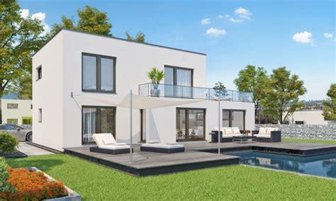 Haus Modern Flachdach by Einfamilienhaus Modern Holzhaus Flachdach Garage Mit Flachdach