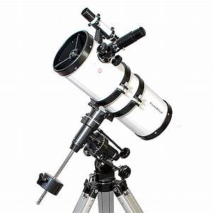 "New 6"" Reflector 280x Power Telescope with EQ Mount Tripod ..."