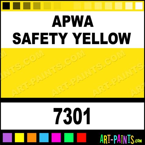 safety yellow paint color code apwa safety yellow contractor marking spray paints 7301 apwa safety yellow paint apwa