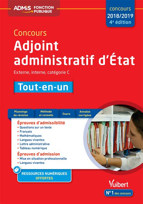 concours adjoint des cadres 100 images fr la lettre administrative entrainement cat 233 gorie c