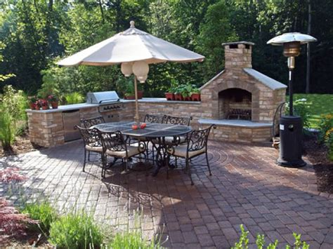 superb patios with fireplaces 13 outdoor patio designs