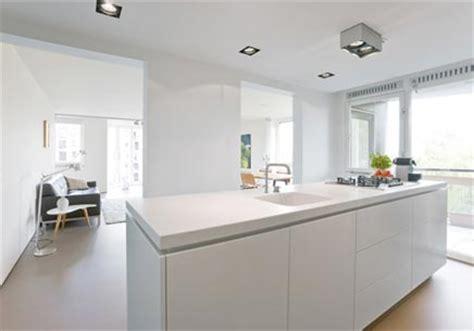 open ruimte in een huis moderne appartement met een doorlopende open ruimte