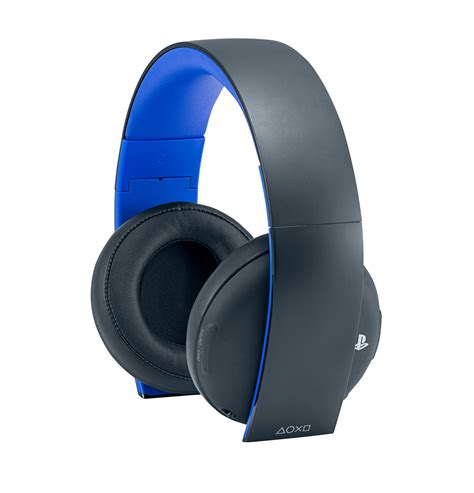 playstation  gold wireless stereo headset gold wireless
