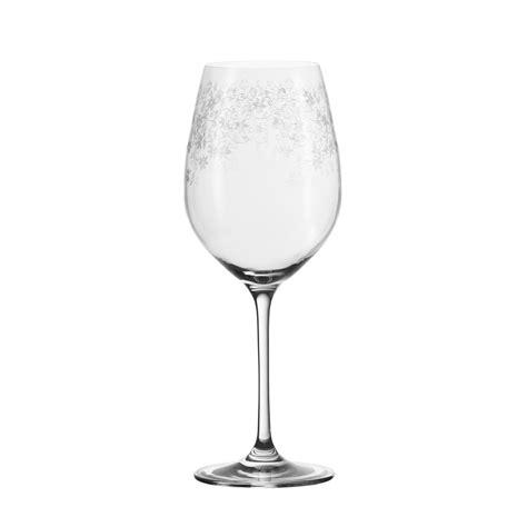 weingläser mit muster cocktail gl 228 ser leonardo rotweinglas 6er set chateau mit stilvollem gravur muster