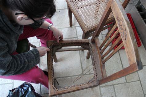 refaire le cannage d une chaise hebdorama 71