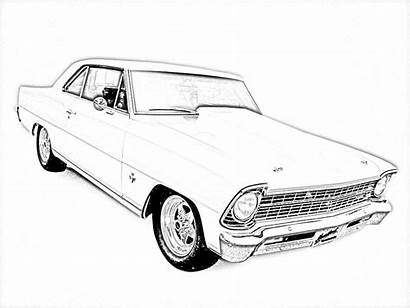 Coloring Pages Cars Adult Truck Muscle Colouring