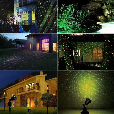 outdoor christmas light show christmas outdoor laser lights waterproof projection