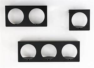 Etagere Murale Noire : etag re noire murale design tag re cube modulable zoom en m tal ~ Teatrodelosmanantiales.com Idées de Décoration
