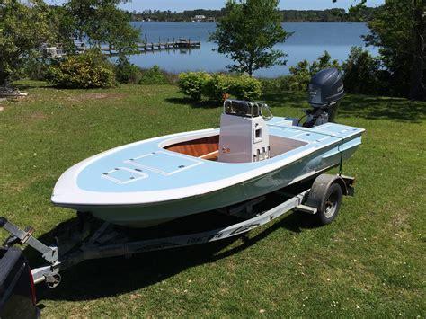 Slick Aluminum Boat Paint by Totally Custom Carolina Flared Mini Bay Flats Boat 16