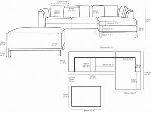 Sectional sofa design sectional sofa dimensions standard for Modern sectional sofa dimensions