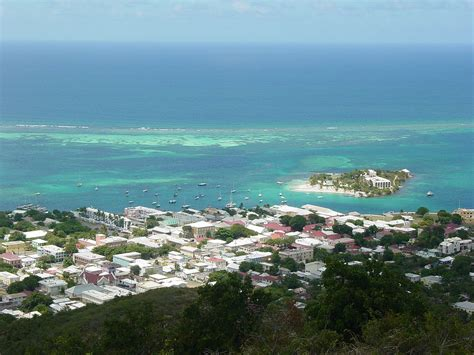 Christiansted, Us Virgin Islands, From Recovery Hill