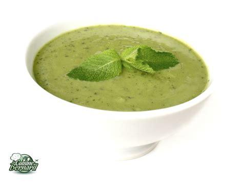 cuisine froide la cuisine de bernard soupe froide petits pois menthe
