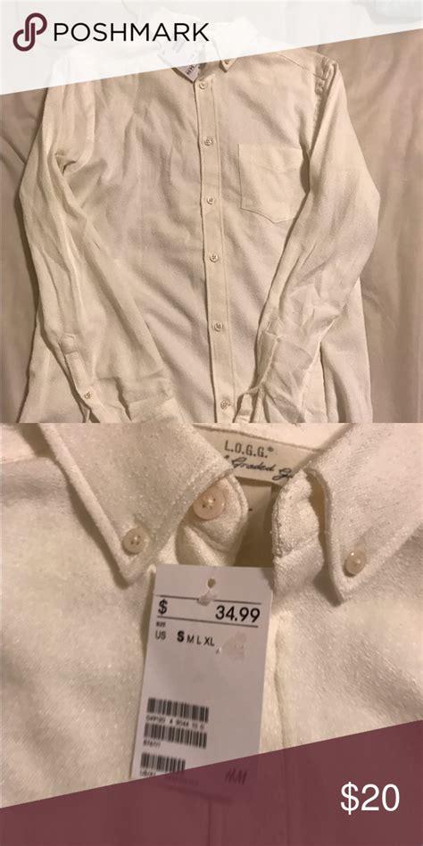 White cotton cream dress shirt   Cream shirt dress, Shirts ...