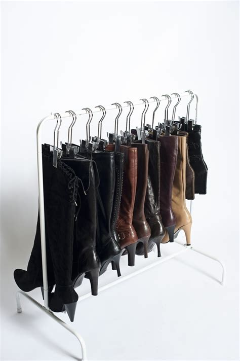 boot hangers for closet the boot hanger used with the boot rack featured in the