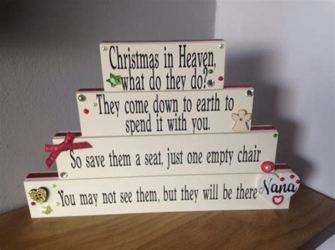 in heaven empty chair poem holidays table decor