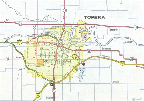 Interstate Guide Interstate 470 Kansas