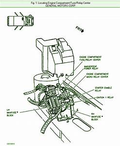 1997 Cadillac Sts Engine Compartment Fuse Box Diagram