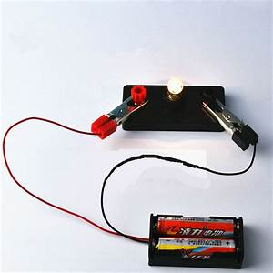 Electric Circuit Kit Kids Student School Science Light ...