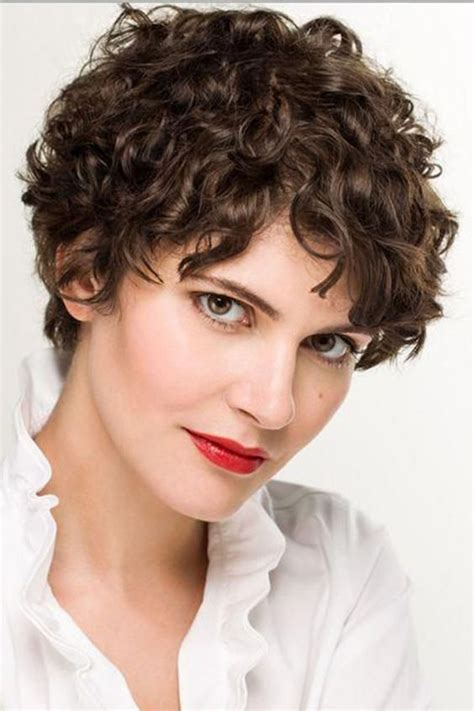 Amazing short curly haircuts for women to try out this season gone are the days when modern hairstyles meant straight and long hair. short curly hairstyle 5 - Short Hairstyles 2020