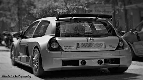 Renault Clio V6 Stock Photos