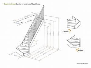 Escalier 1 4 Tournant Droit : casablanca pic a 1 4 tournant contremarches rampe cf8 upstairs24 ~ Dallasstarsshop.com Idées de Décoration