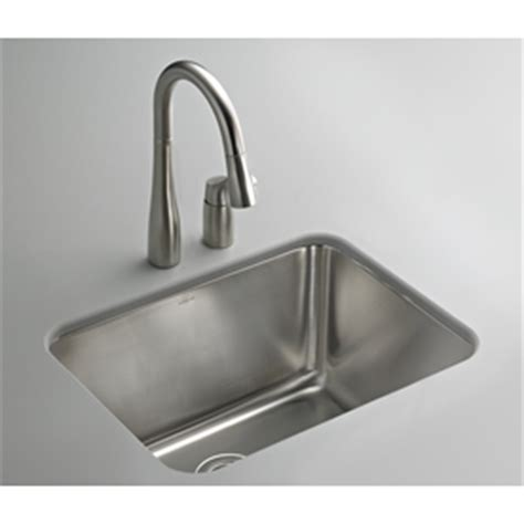 Stainless Steel Laundry Sink Undermount by Shop Kohler 12 75 In X 15 25 In Steel Undermount Stainless