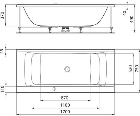 taille baignoire standard product details e0197 baignoire 170 x 75 cm ideal standard