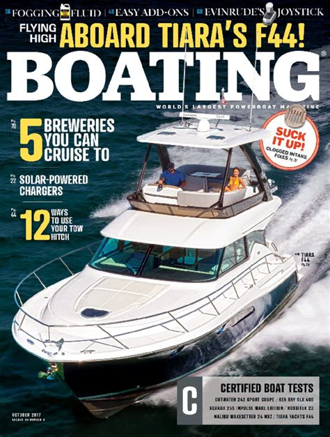 Boating Magazine Subscription by Category Sports And Recreation Boating