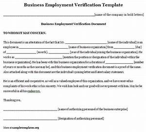 free templates forms free employment verification form With voe template