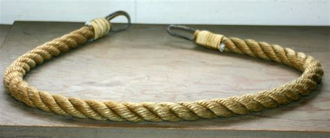 Curtain Tie Backs Light Brown Rope Nautical By