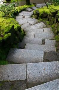 Japanese Stone Garden Steps