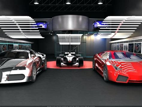 Race Car Garage Car Body Panels Race Car Testing Compact
