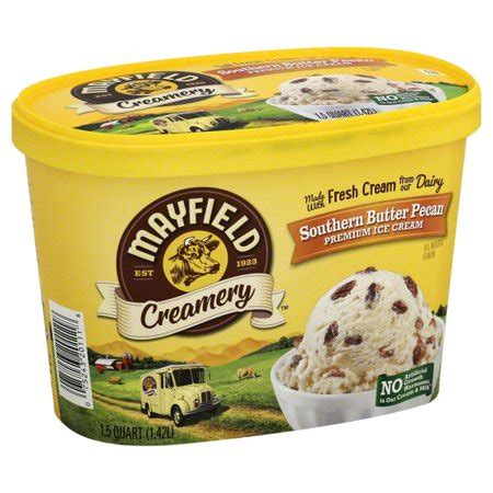 Beyond its irresistibly rich and creamy flavor, nativepath has taken conventional coffee creamer a step further by infusing each serving with 3 key ingredients designed to naturally coffee creamer. Mayfield Creamery Southern Butter Pecan Premium Ice Cream, 1.5 qt - Walmart.com