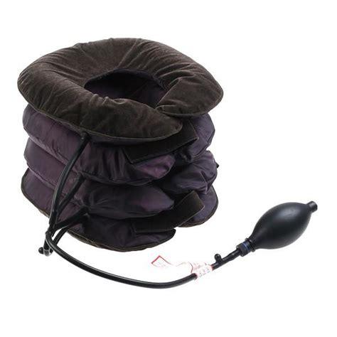 cuscino per collo cuscino per trazione per collo gonfiabile