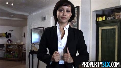 Propertysex Cute Real Estate Agent Makes Dirty Pov Sex