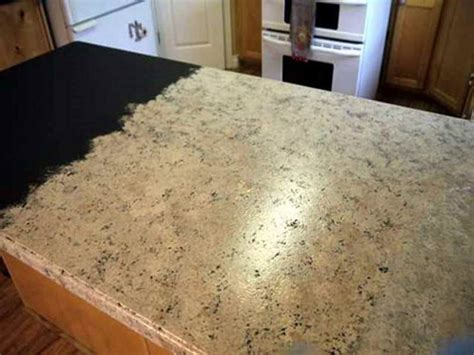 unique paint countertops to look like granite 5 painting