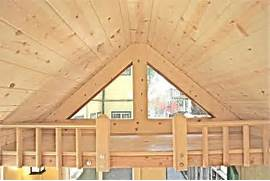 Tiny House With A Flip Up Porch Inside Lofts Building Smalltopia A Look Inside Our Loft Molecule Tiny House 07 Tiny House Plans Two Lofts