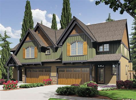 Craftsman Ranch House Plan With Unique Look