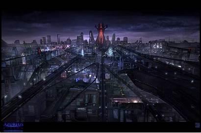 Future Concept Futuristic Cities Cyberpunk Rising Vista