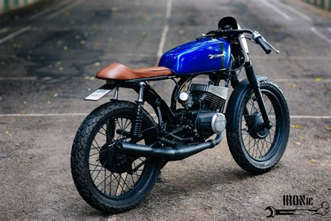 Bike Modification Centers Hyderabad by Photo Feature Weekend Warrior Rx135 Cafe Racer