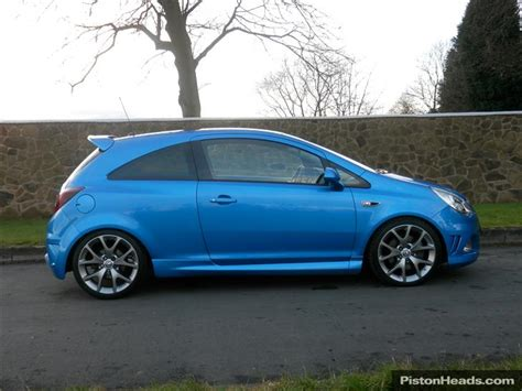 vauxhall corsa blue used vauxhall corsa vxr cars for sale with pistonheads
